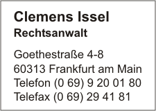 Issel, Clemens