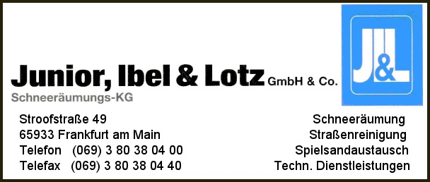 Junior, Ibel & Lotz GmbH & Co. Schneeräumungs-KG